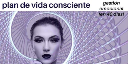 PLAN DE VIDA CONSCIENTE. GESTIÓN EMOCIONAL EN 40 DÍAS Presentación gratuita