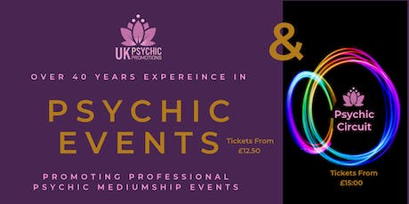 PSYCHIC EVENT	-	 Yeadon Town Hall , High Street, Yeadon,  LS19 7PP tickets
