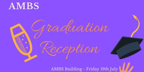 AMBS Graduation Reception 2019 tickets