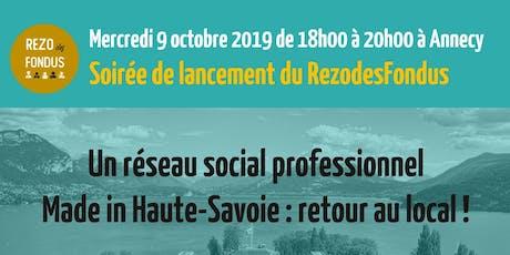 Un réseau social professionnel made in Haute-Savoie : retour au local ! billets