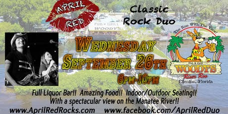 April Red Rockin' Woody's River Roo in Ellenton! tickets