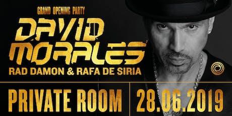 David Morales - Oceans Nightclub Grand Opening tickets
