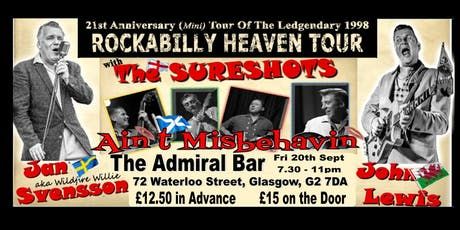 Ain't Misbehavin' Rockabilly Heaven tickets