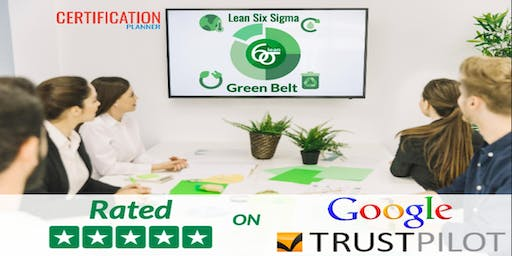 Lean Six Sigma Green Belt with CP/IASSC Exam Voucher in Mexico City(2019)