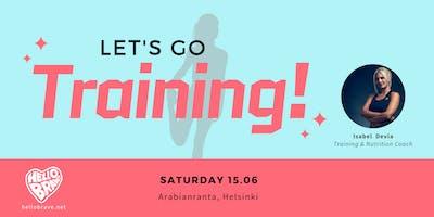 Free Outdoor Training in Helsinki