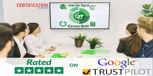 Lean Six Sigma Green Belt with CP/IASSC Exam Voucher in Monterrey(2019)