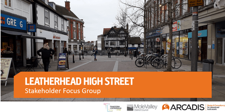 Leatherhead High Street Stakeholder Update tickets