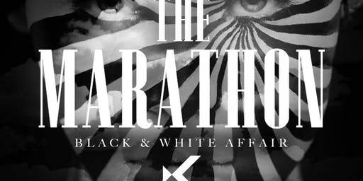 """ MARATHON"" (BLACK AND WHITE AFFAIR)   ""Kabana RoofTop at SUNSETSUNDAYS"""