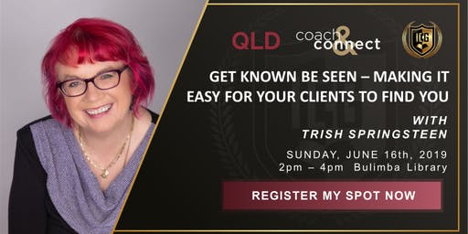ICG Coach & Connect Qld - June 16th - Trish Springsteen