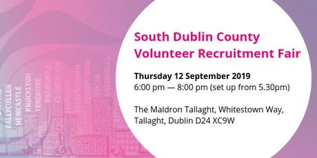 South Dublin County Volunteer Recruitment Fair tickets