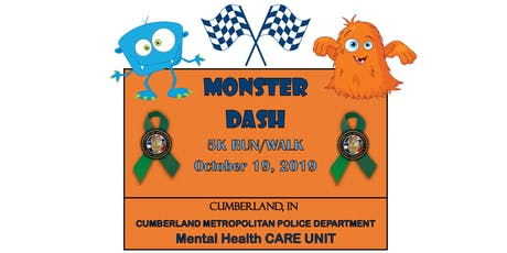 Monster Dash 5K Run/Walk tickets