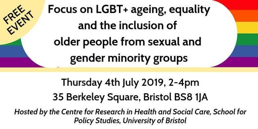 Focus on equality & inclusion of older LGBT+ people in care services