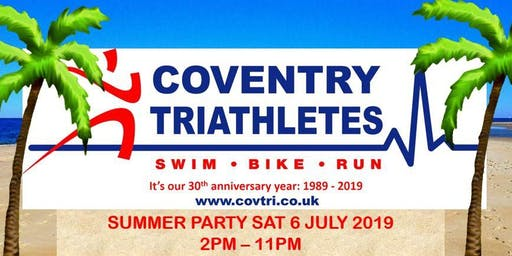 Coventry Triathletes Summer Party