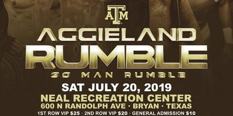 AGGIELAND RUMBLE presented by Lions Pride Sports  tickets