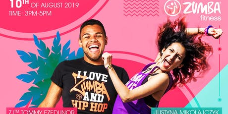 Summer Zumba®️Masterclass with ZJ™️ Tommy Ezedunor  tickets