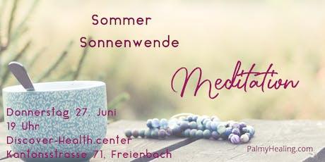 Sommer Sonnen-Wende Meditation Tickets