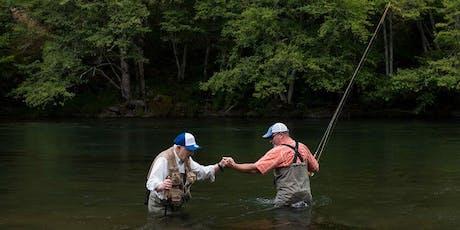 Veterans Program - On The Stream Fishing Lessons tickets