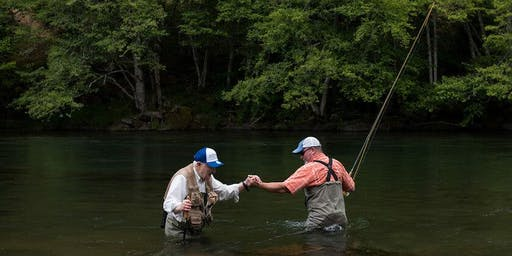Veterans Program - On The Stream Fishing Lessons