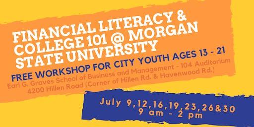 2019 Financial Literacy & College 101 @ MSU