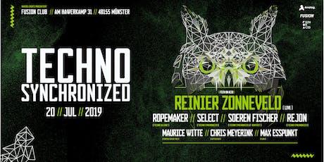 Techno synchronized  w/ Reinier Zonneveld live Tickets