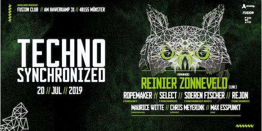 Techno synchronized  w/ Reinier Zonneveld live
