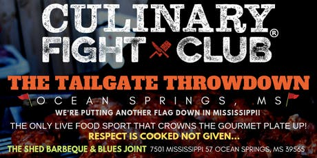 Culinary Fight Club - Ocean Springs, MS: The Tailgate Throwdown tickets