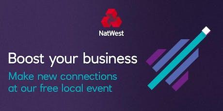 PR & Digital Marketing #NatWestBoost tickets