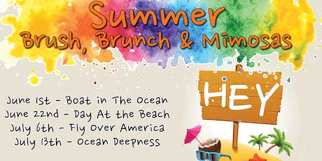 Brush, Brunch & Mimosas - July 13th tickets