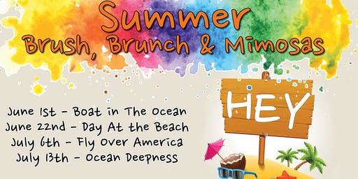 Brush, Brunch & Mimosas - July 13th