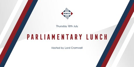 RBCC Parliamentary Lunch 2019 tickets