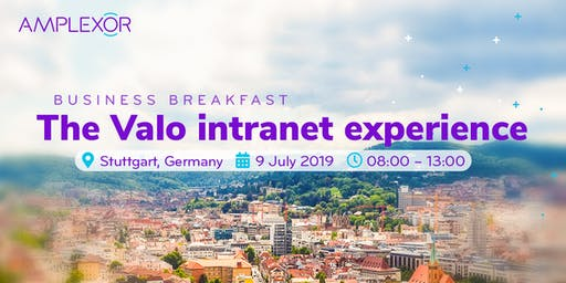 Business Breakfast: The Valo intranet experience