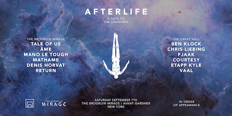 Afterlife New York tickets