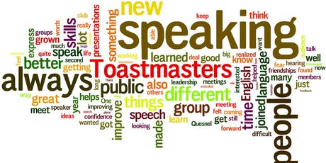 Dover Free Speakers Toastmasters Leadership and Communication Development tickets