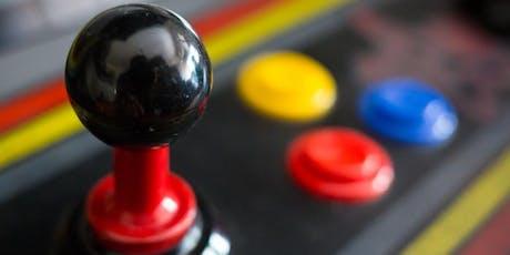 Retro Arcade Event: Saturday 21 September Evening Session - with DJ tickets