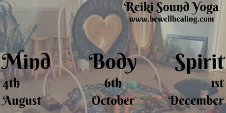 Be Well Healing * Holding Space * Reiki Sound Yoga []TheSpaceVta[] tickets