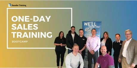 One-Day Sales Training Bootcamp tickets