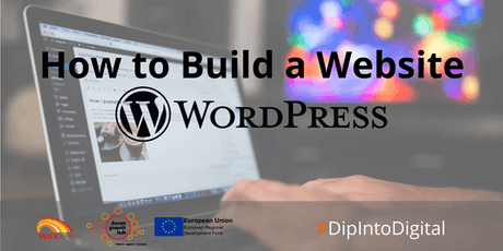 How To Build a Website - Wordpress - Blandford - Dorset Growth Hub tickets