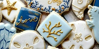 Beginner Cookie Decorating- Beach Theme