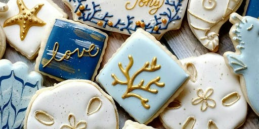 Beginner Cookie Decorating- Beach Theme