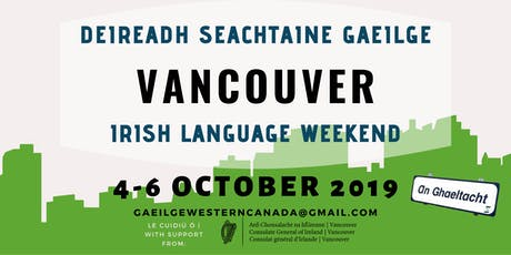 Vancouver Irish Language Weekend tickets