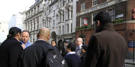 From East India Arms to Whitehall: East India Company Walk tickets