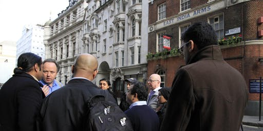 From East India Arms to Whitehall: East India Company Walk