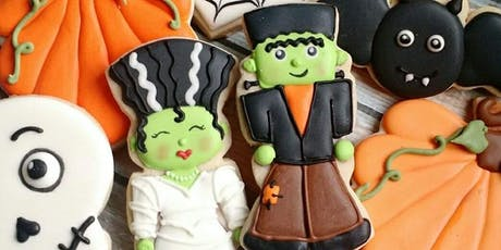 Beginner Cookie Decorating- Halloween tickets