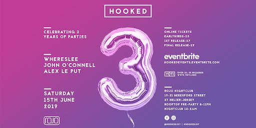HOOKED 3rd Birthday Party
