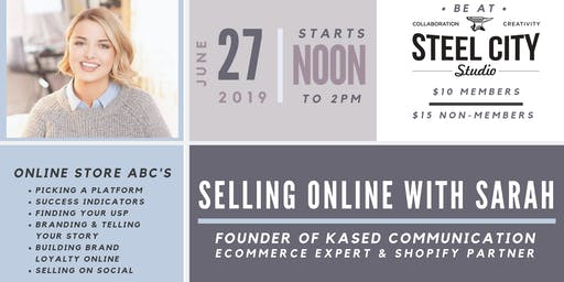 Website Workshop: Selling Online with Sarah