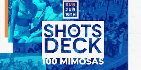 Shots On Deck tickets