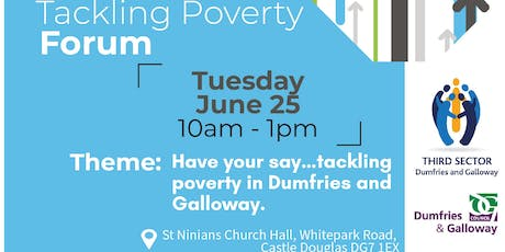 Tackling Poverty Forum - Have your say... tickets