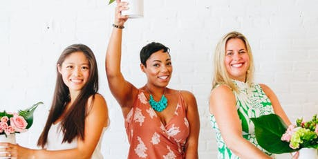 Tropical Flower Arranging with Swoozie's Greensboro tickets