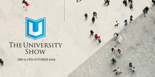 The University Show Dubai | October 3rd & 4th (11am - 5pm Daily)