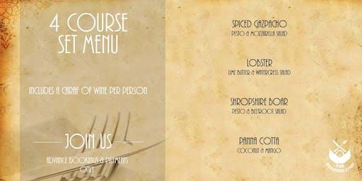 4 Course Set Menu & Caraf of Wine